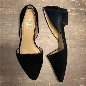 Franco Sarto size 7 leather upper